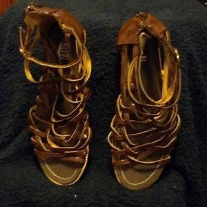 Kalli Gladiator style sandals size 8